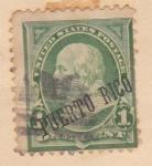 Sellos del Mundo : America : Puerto_Rico : Presidente Benjamin Franklin Ed. 1899