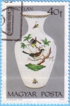 Stamps Hungary -  Herendi Porcelan