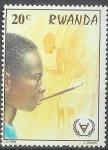 Stamps Africa - Rwanda -  Pintura