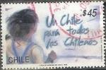 Stamps : America : Chile :  Un Chile para todos los chilenos