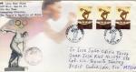 Sellos de Asia - China -  Carta circulada de China a México primer día de emisión-fdc-The Centennial Olympic Games and 26th Ol