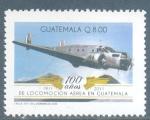 Sellos del Mundo : America : Guatemala : Centenario de la Locomoción Aerea en Guatemala