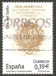 Sellos de Europa - España -  4412 - Día del sello, Portada de la Real Ordenanza del Correo Marítimo