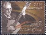 Stamps America - Guatemala -  José Ernesto Monzón (Músico)