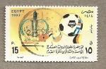 Stamps Egypt -  Copa Africa Futbol