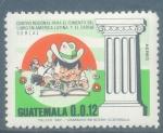 Sellos del Mundo : America : Guatemala : Centro Regional para el Fomento del Libro en America Latina y El Caribe