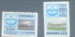 Sellos del Mundo : America : Guatemala : 20 Aniversario de la Org. de Aviación Civil Internacional