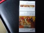 Sellos de America - Venezuela -  Bic.de la Independencia 1811-2011-Reunión de la Sociedad Patritica.(Aut.Tito Salas)República Bolivar