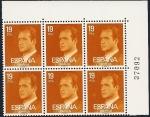 Sellos de Europa - España -  Serie Básica de S.M. el Rey 1980