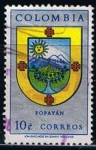 Stamps Colombia -  Scott  733  Escudo de Armas de Popayan