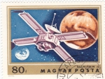 Stamps : Europe : Hungary :  aeronautica