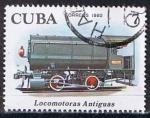 Sellos de America - Cuba -  Scott  2359  Steam storage  (Primeras locomotoras)
