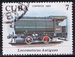 Sellos de America - Cuba -  Scott  2359  Steam storage  (Primeras locomotoras) (2)