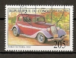 Stamps Africa - Republic of the Congo -  Ford Victoria.