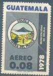 Sellos de America - Guatemala -  Escudo de la Municipalidad de Sololá