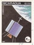Stamps Nicaragua -  aeronautica