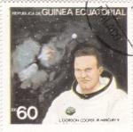Sellos de Africa - Guinea Ecuatorial -  aeronautica