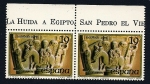 Stamps Spain -  Navidad 1979 - huida a Egipto - Huesca