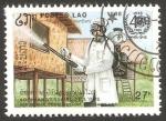 Stamps Laos -  851 - 40 anivº de la OMS, desinfección