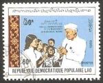 Stamps Laos -  936 F - centº del nacimiento de Jawaharlal Nehru