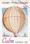 Stamps Cuba -  aniv.globo aerostatico