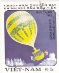 Stamps : Asia : Vietnam :  aniv.globo aerostatico