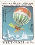 Sellos de Asia - Vietnam -  aniv.globo aerostatico