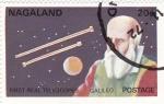 Stamps Asia - Nagaland -  aeronautica-galileo