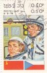 Stamps : Asia : Laos :  aeronautica