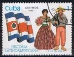 Stamps America - Cuba -  Scott  3257  Costa Rica (Trajes tipicos)