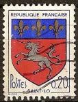 Sellos de Europa - Francia -  Saint Lo