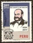 Stamps Peru -  ALMIRANTE   MANUEL  GRAU