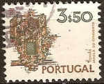 Sellos del Mundo : Europa : Portugal : Janela do convento de Cristo en Tomar