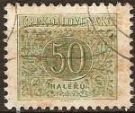 Sellos de Europa - Checoslovaquia -  P.Roule
