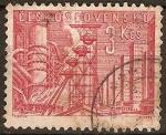 Sellos del Mundo : Europa : Checoslovaquia : Fabricas en Kladno