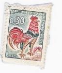 sellos de Europa - Francia -  Le coq de Decaris (repetido)