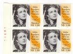 Stamps Mexico -  Block de 4 Idolos populares del cine Mexicano-Maria Felix