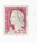 sellos de Europa - Francia -  La Marianne de Decaris (repetido)