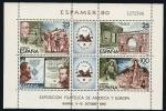 Stamps Spain -  Espamer 80  HB