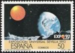 Stamps Spain -  Expocisión Universal Sevilla 92