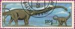 Sellos de Asia - Mongolia -  Dinosaurios. (VII)