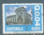 Sellos del Mundo : America : Guatemala : Edificio de la Policia Nacional de Guatemala