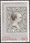 Stamps Spain -  Centenario Primera Emisión de Alfonso XIII