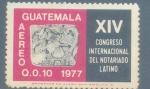 Sellos del Mundo : America : Guatemala : Notariado Latino