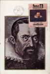 Sellos de America - México -  Tarjeta máxima de México primer día de emisión-Johannes Kepler