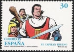 Stamps Europe - Spain -  Comic personajes de ficción