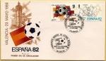 Sellos de Europa - España -  Sedes Copa Mundial de Fútbol  - España 82 Valencia - SPD