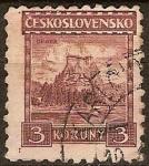 Sellos del Mundo : Europa : Checoslovaquia : Castillo Polanok