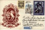 Sellos de Europa - Polonia -  Sobre circulado de Polonia a México-exposiciones filatélicas.