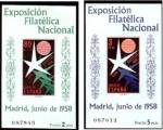 Sellos de Europa - España -  25 de Junio Exposición Filatelica Nacional Codigos Edifil (1222-1223)